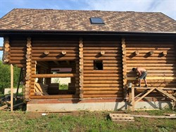 Фасадное льняное масло вареное с воском 3л. №4 - фото 5626