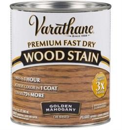 Золотой махагон  тонирующее масло  Varathane Fast Dry Wood Stain
